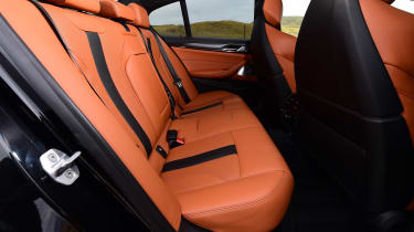 BMW M5 - rear seats