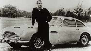 Sean Connery with DB5