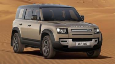 Alex Ingram Land Rover Defender front