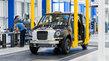 London Taxi Company - production line