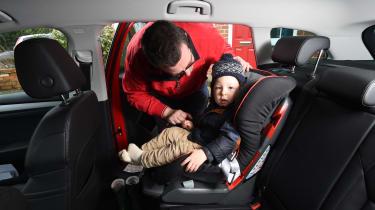 Skoda Superb long-term test - first report car seat