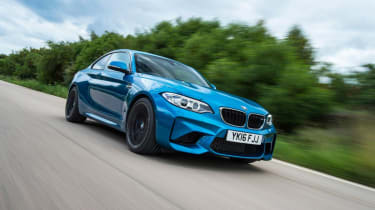 BMW M2 - front action