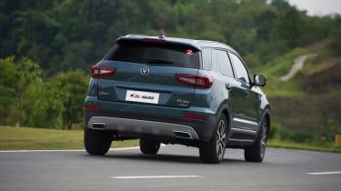 Changan CS55 - rear cornering