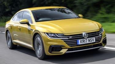 Volkswagen Arteon review - gold road drive