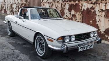 Electrogenic Triumph Stag - front