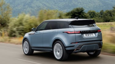 New Range Rover Evoque - rear tracking