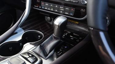 Lexus RX 450h - centre console