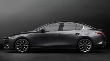 Mazda 3 Fastback - side studio
