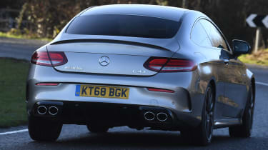 mercedes-amg c 43 coupe rear
