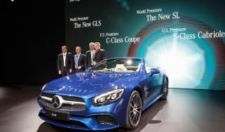 New Mercedes SL Roadster 2015 LA Show 3