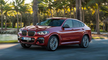 BMW X4 - front sunset