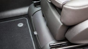 Vauxhall Zafira Tourer 2016 seat folded