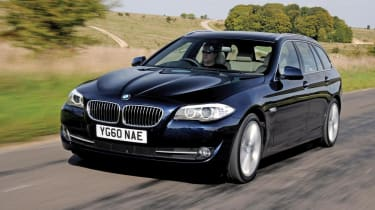 BMW 530d Touring front