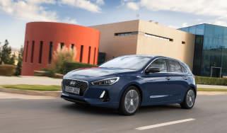 New Hyundai i30 2017 front tracking