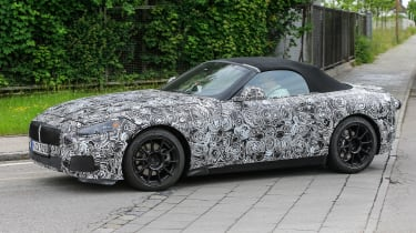 New BMW Z4 almost turned