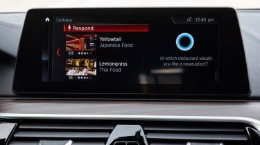 BMW 5 Series Personal CoPilot autonomous prototype display