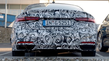Audi A5 Sportback spies - rear