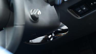 Jaguar XE Long term test - under steering wheel