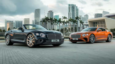 Bentley Continental GT V8 - coupe and convertible