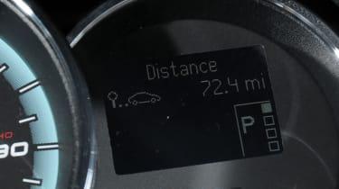Renault Fluence Z.E. dials