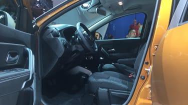 Dacia Duster - Frankfurt interior