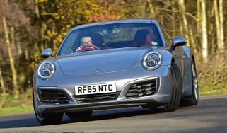 Porsche 911 Carrera front