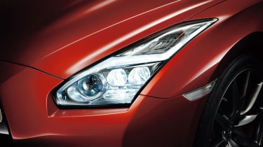 Nissan GT-R 2014 LED headlight