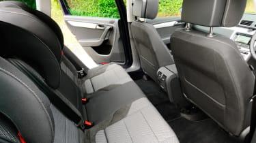 Volkswagen Passat Alltrack rear seats
