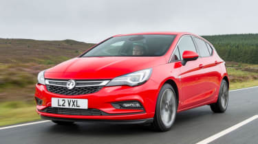 Vauxhall Astra - front