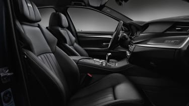 BMW M5 Competition Edition 2016 interior