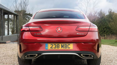 Mercedes E 400 d  Coupe - rear static