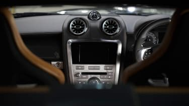 black interior Speedback Silverstone edition