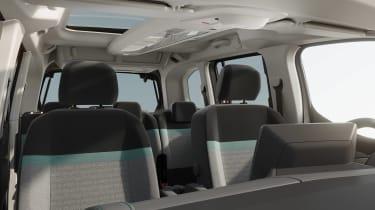Citroen e-Berlingo - seats