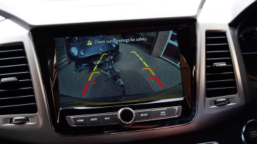 SsangYong Rexton - rear-view camera