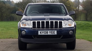 Used Jeep Grand Cherokee - full front