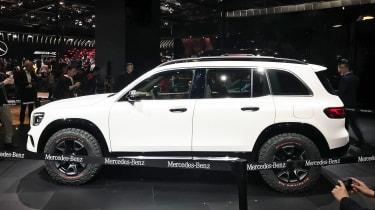 Mercedes GLB Concept - Shanghai side