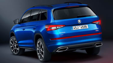 Skoda Kodiaq vRS - rear static