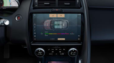 Jaguar E-Pace R-Dynamic Black - screen