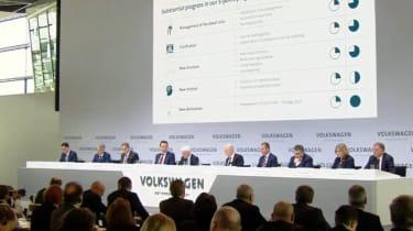 VW press conference 2017