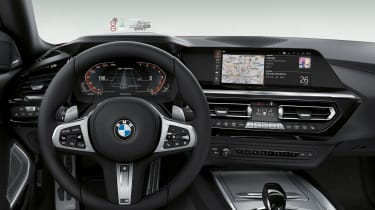 BMW Z4 - steering wheel