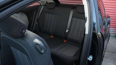 Vauxhall Corsa Black Edition seats
