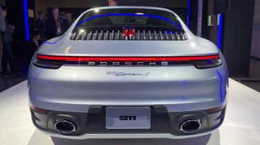 Porsche 911 - LA reveal full rear