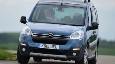 Citroen Berlingo 2016 - front cornering