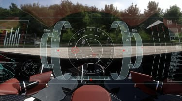 Aston Martin Vision Volante Concept - cockpit