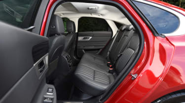 Long-term test review: Jaguar XF - first report rear seats