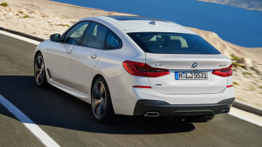 BMW 6 Series Gran Turismo - rear action