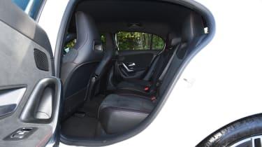 Mercedes A-Class long-term test review - rear seats