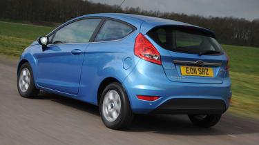 Ford Fiesta rear tracking
