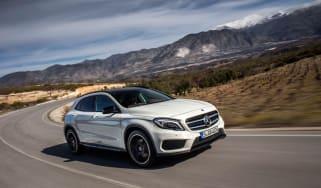 Mercedes GLA 250 SE - front