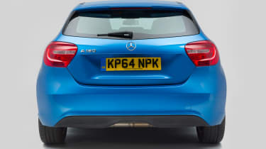 Used Mercedes A-Class - full rear